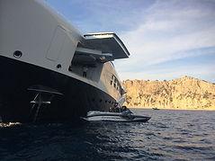 yacht wakesurf service