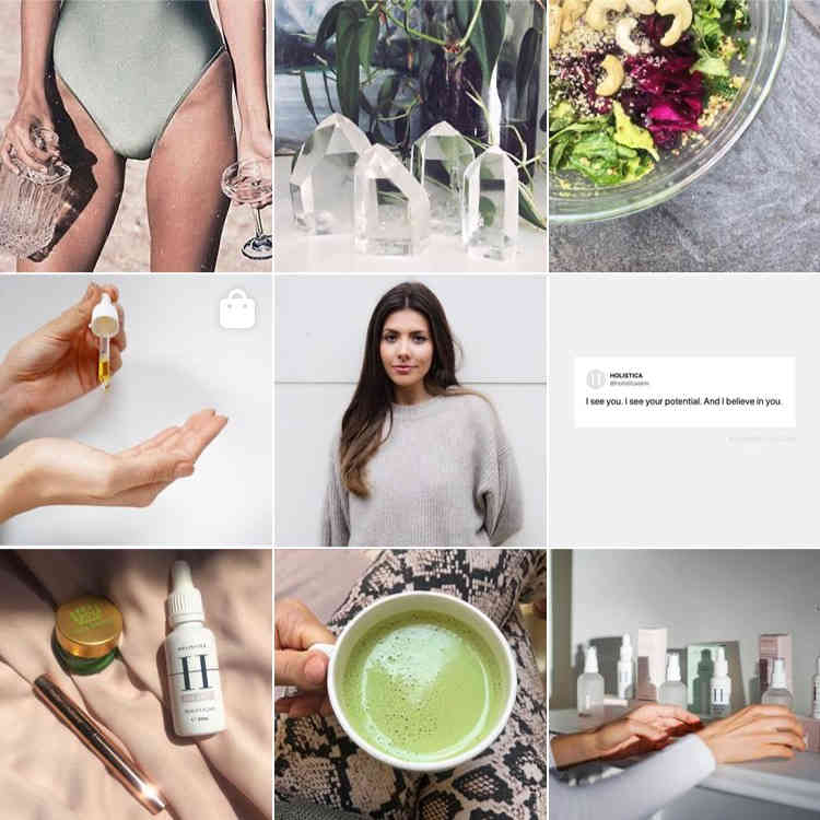 Wellness Skincare Instagram Feed