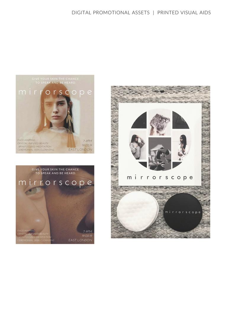 Mirrorscope Printed Leaflets Fashion