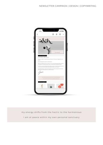 Iphone Mock Up Newsletter