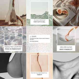 Polaroid Body style Instagram Feed