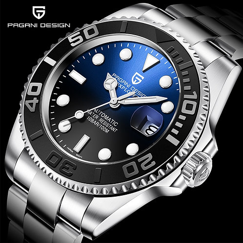 PAGANI Design Men Automatic Watch Sapphire Waterproof Watch Men