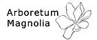 Arboretum Magnolia logo valkoinen.png