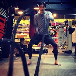 激戰青聯__#青聯康體會 #青聯 #元朗人 ##元朗嘉誠 #workout #fightclub #fighter #fight #boxing #muay#muaythai_