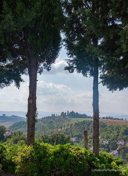 Tuscan hillside Italy