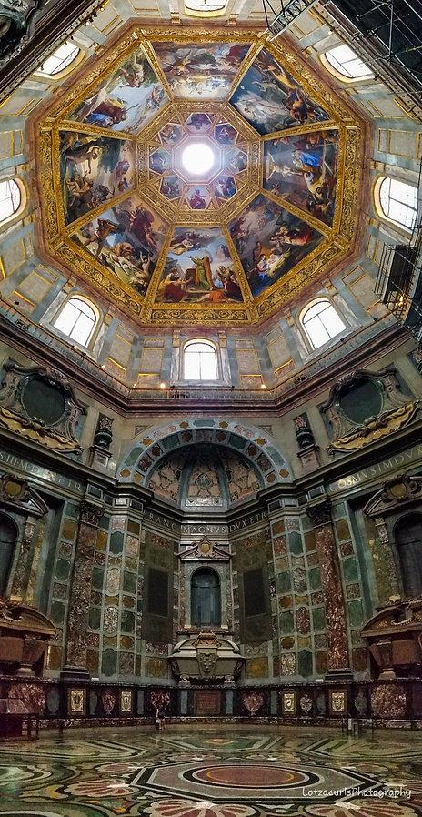 Medici Chapel Florence Tuscany Italy