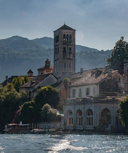 Isola San Giulio Lago d'Orta Italy
