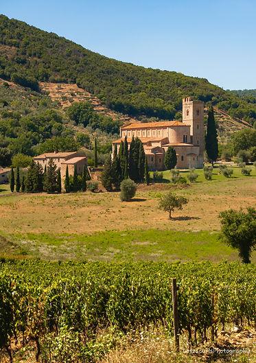 Sant'Antimo Abbey Tuscany Italy