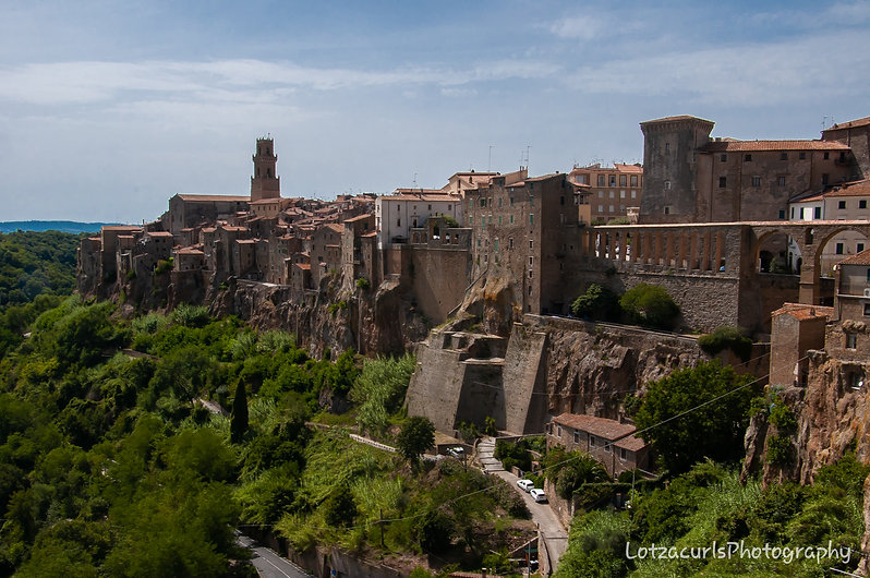 Pitigliano Città del Tuffo Tuscany Italy