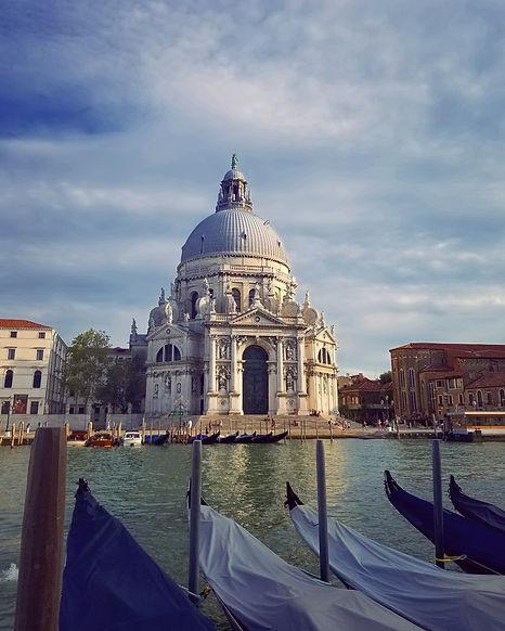 Venice Basilica di Santa Maria della Salute Italy