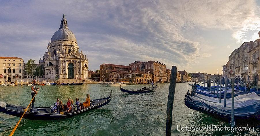 Venice gondolas Italy