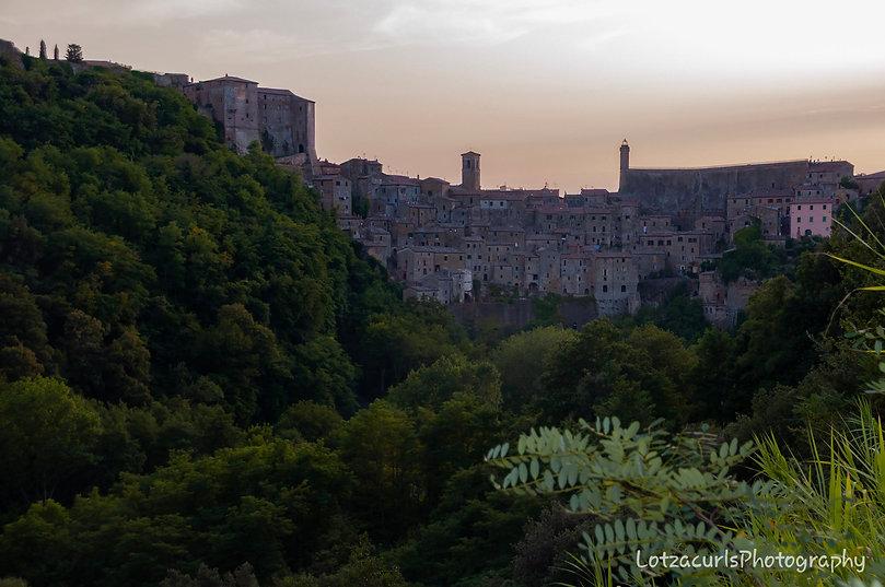Sorano Città del Tuffo Tuscany Italy