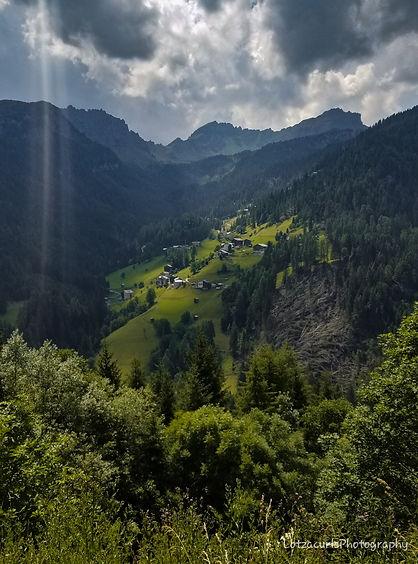 Dolomites mountain roads Italy