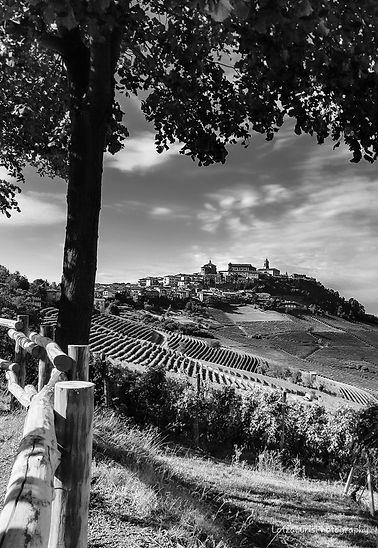 La Morra hilltop towns Cuneo Italy