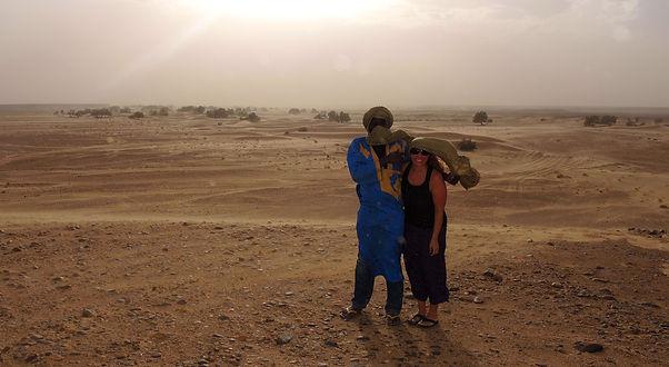 Bedouin guide Sahara desert Morocco