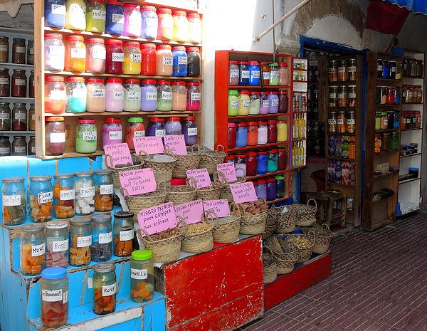 Marrakesh Djemaa El-Fna Market Morocco