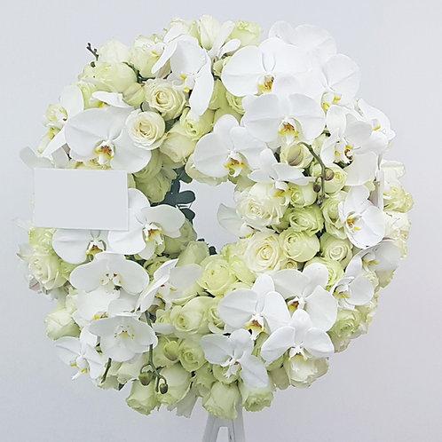 Deluxe rose wreath