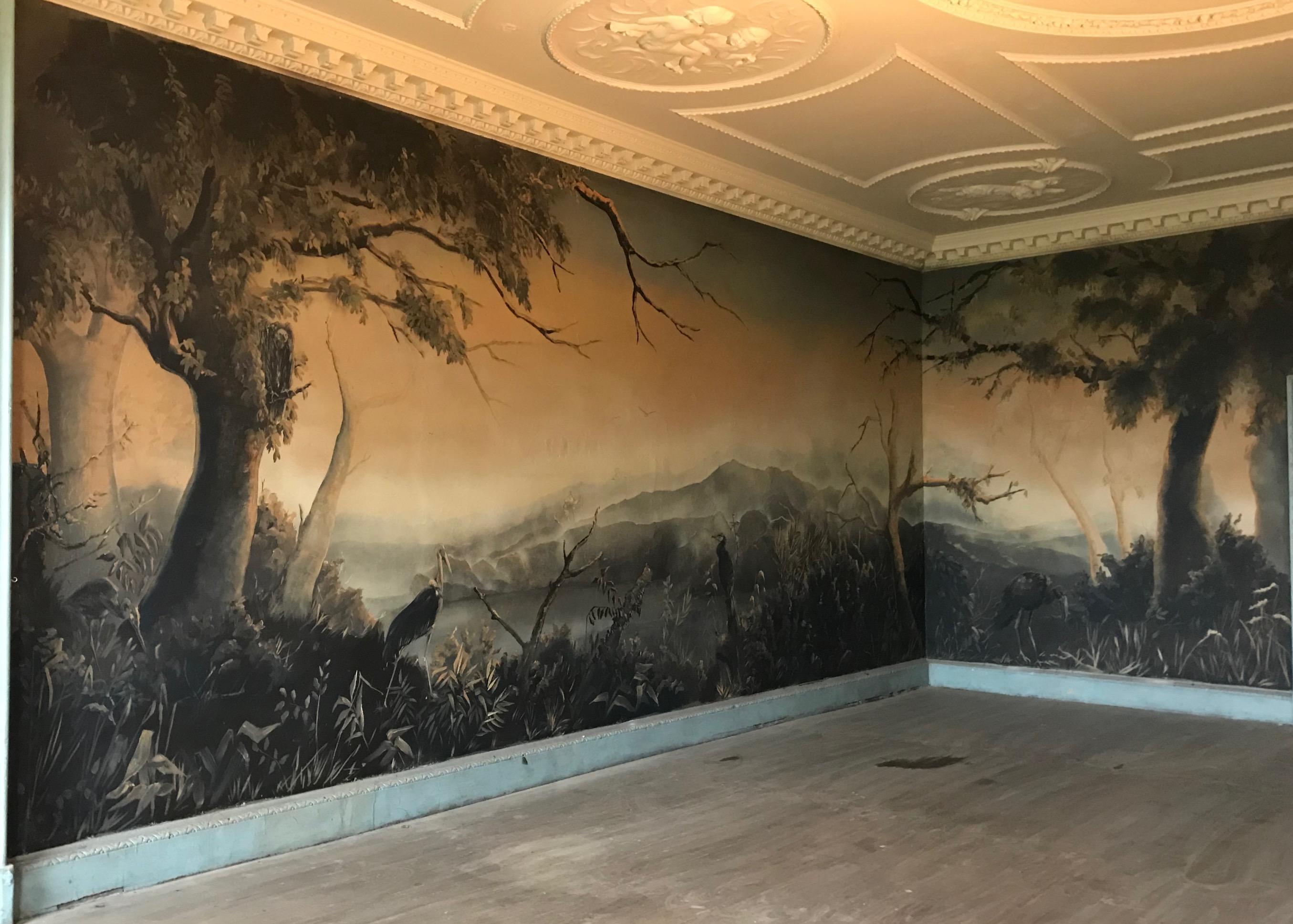 Langleybury Mural