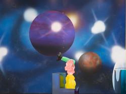 Space Artist Mural