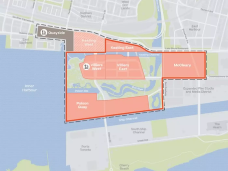 Toronto developers are trying to create a River District and here's its next condo
