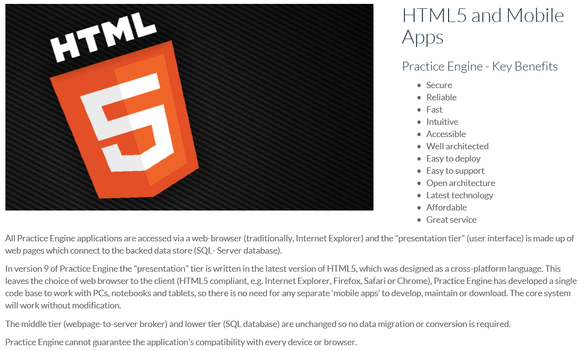 HTML5 is Mobile