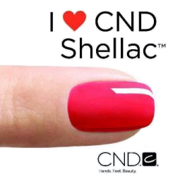 CND Shellac Manicure or Pedicure