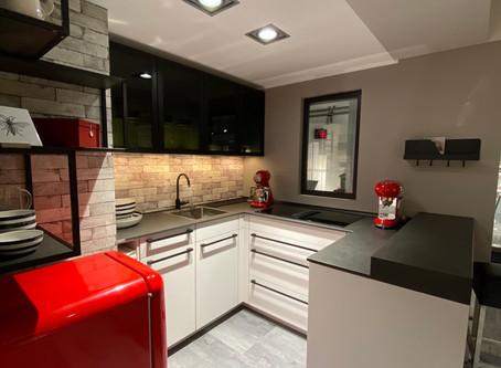 Eine Tiny Küche