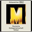 Goldene M Gütezeichen
