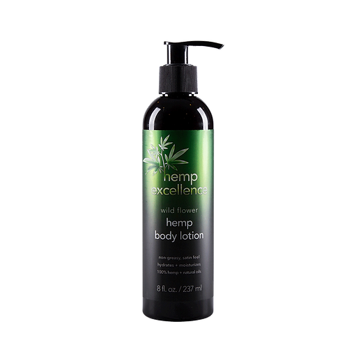 Hemp Excellence Body Lotion (Wild Flower Scent)