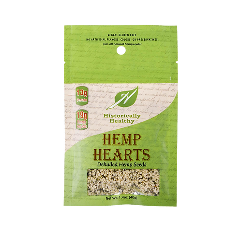 Dehulled Hemp Hearts – 1.4oz Snack Pack