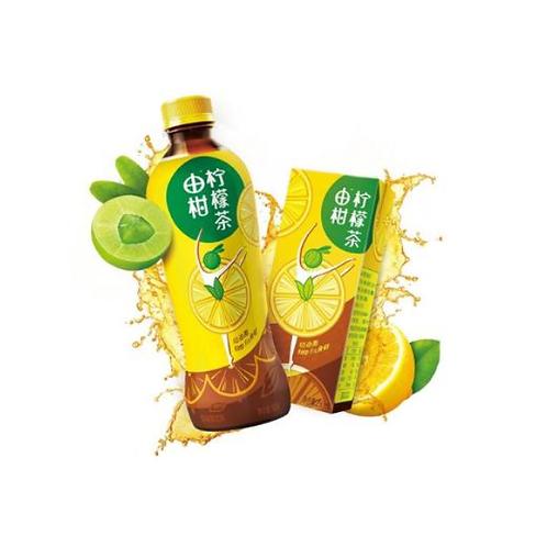 东鹏由柑柠檬茶380ml