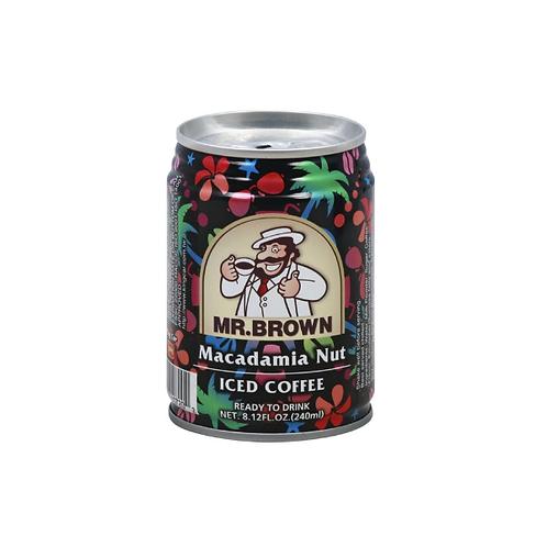 Mr.Brown Iced Coffee Macadamia Nut240ml