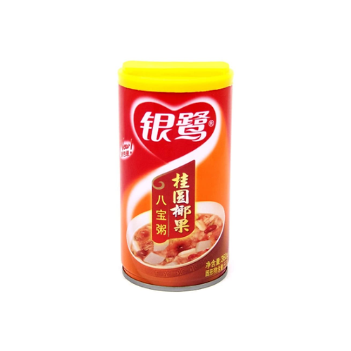 银鹭桂圆椰果八宝粥360G