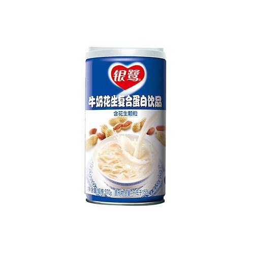 银鹭牛奶花生蛋白饮料370G