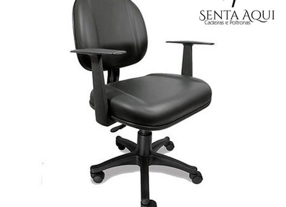Cadeira Giratória  Executiva com Lamina  com Br. Regulável - Anatômica