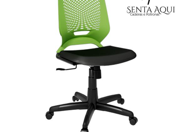 Cadeira secretária Beezi - Preta