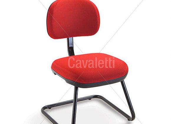 Cadeira Secretária Fixa Cavaletti Stilo  Solução Profissional   Os mode