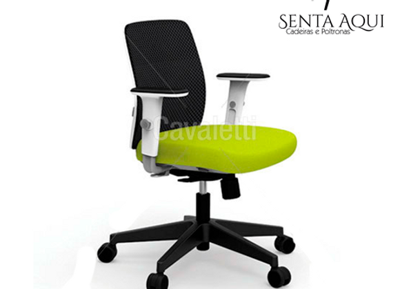 Cadeira Secretária Cavaletti Ideia