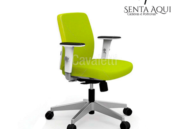 Cadeira Secretária Cavaletti - Idea