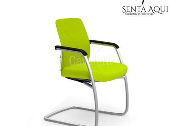 Cadeira Secretária Cavaletti - fixa Idea