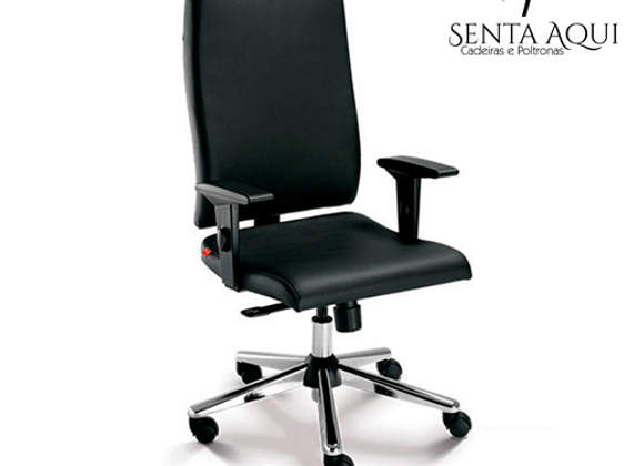 Cadeira Presidente Cavaletti - Slim