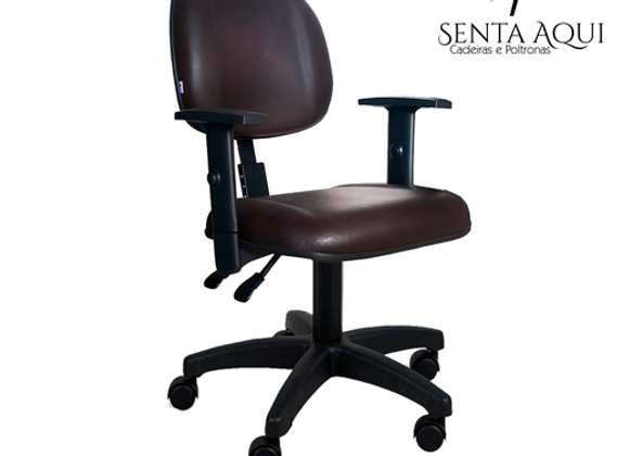 Cadeira Secretária Executiva Back System