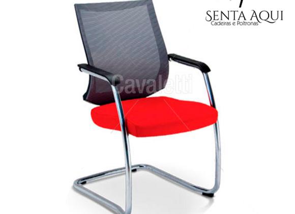 Cadeira Secretária Fixa Cavaletti - Air