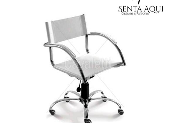 Cadeira Secretária Cavaletti Chroma