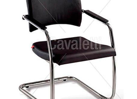 Cadeira Secretária Cavaletti Slim - Aproximação