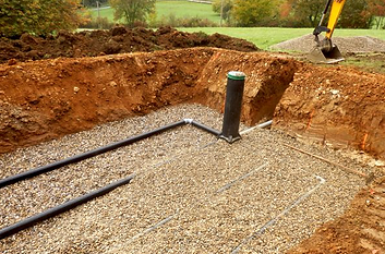 Septic System Construction Sundre