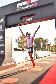 Anthony Mironov at  Ironman Maryland 2017