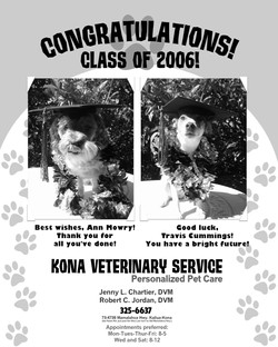 Yearbook Congratulations 2006