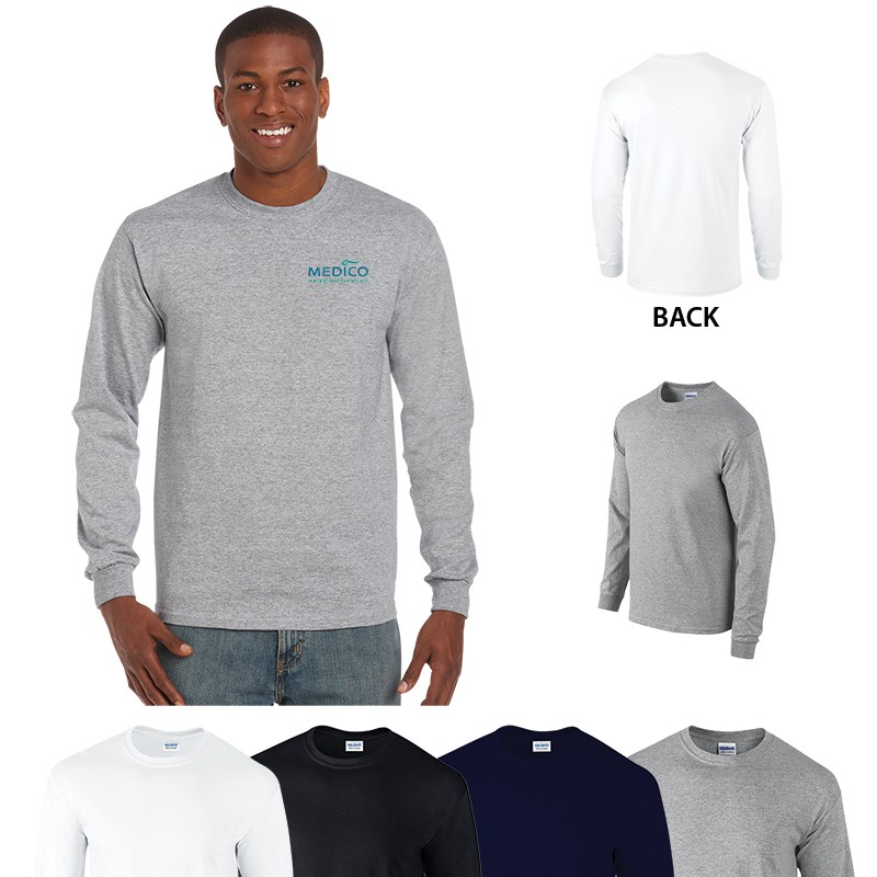 Gildan_Adult Long Sleeve T-SHIRT 6oz