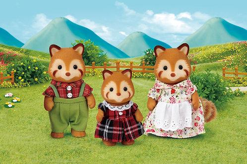 Sylvanian Families Red Panda Family